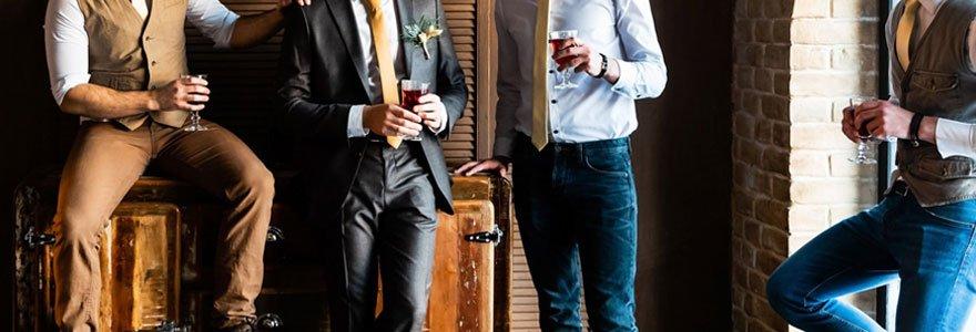 Achat de vêtements de marque pour hommes