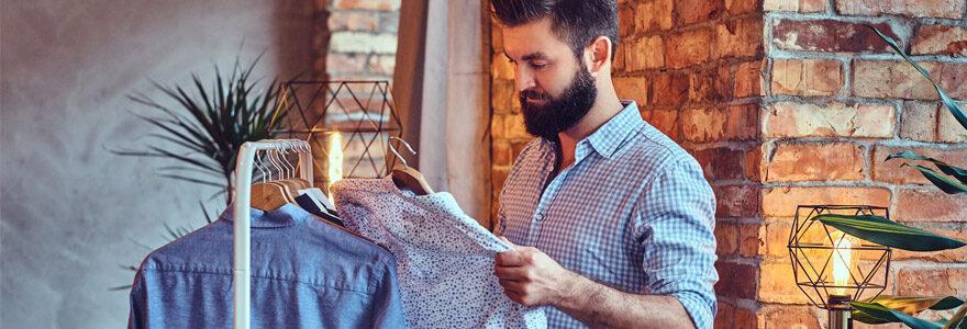 mode masculine chemise choisir
