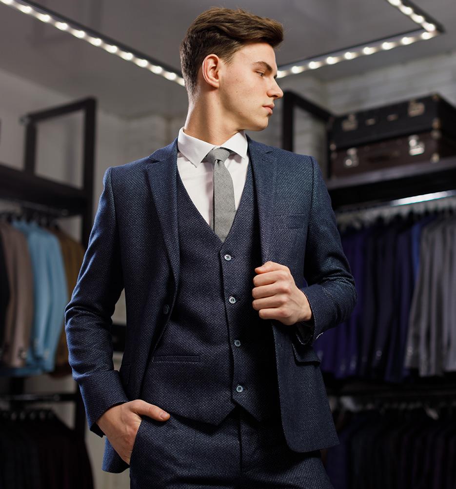 La vente des articles de luxe pour hommes